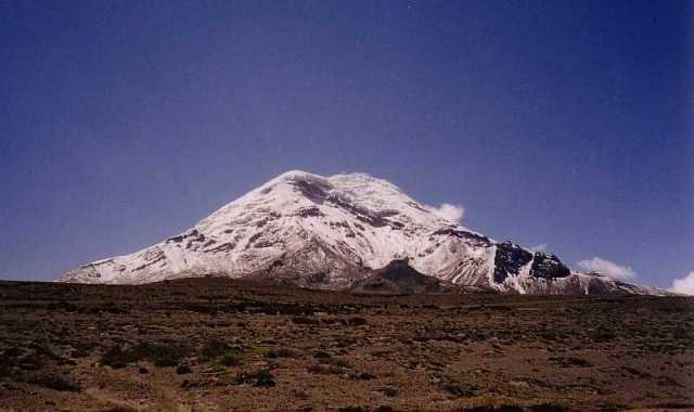 Chimborazo_from_southwest