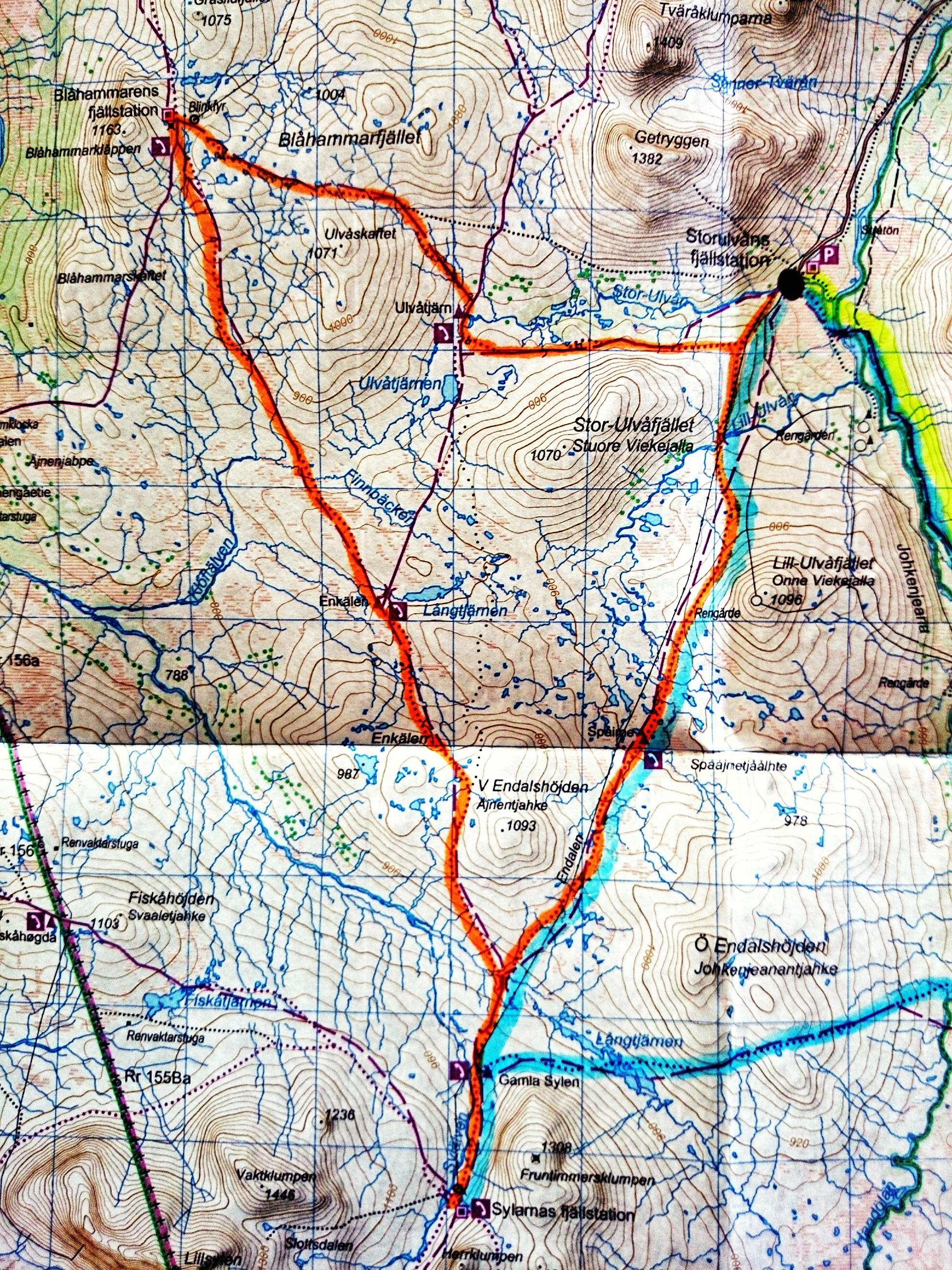 jämtlandstriangeln karta juni | 2014 | Addnaturebloggen jämtlandstriangeln karta