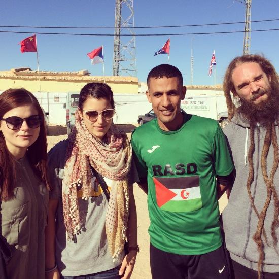 Linnea, Amanda, Salah och Promoe